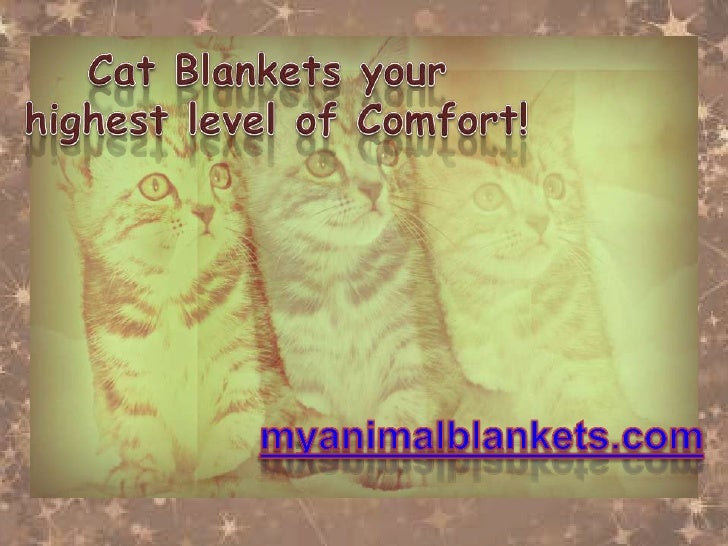 Long for a blanket that is Eco-    Friendly, Natural and hasRecycled fibers? Also, Cat loverswould love to get these, and ...