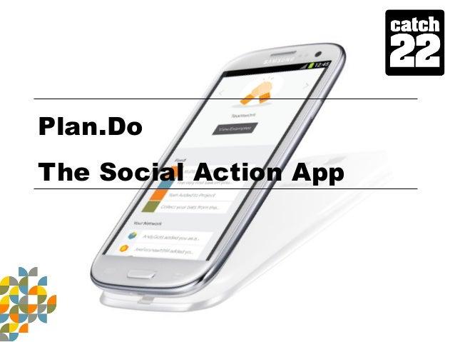 Plan.Do The Social Action App