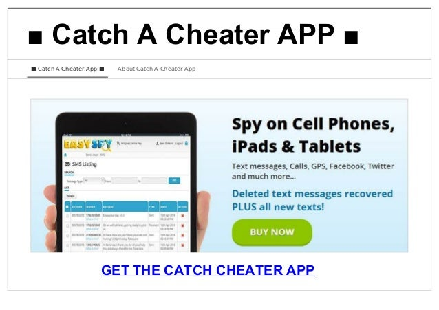 Facebook hacks to catch a cheater