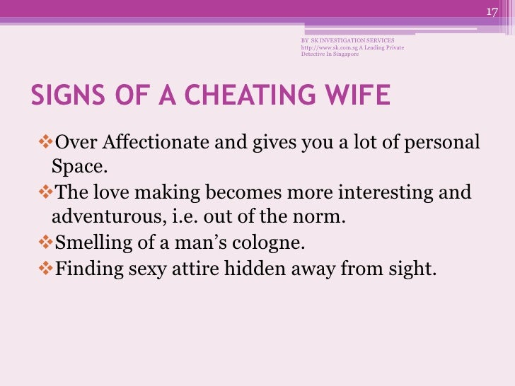 A man's wife was cheating until…