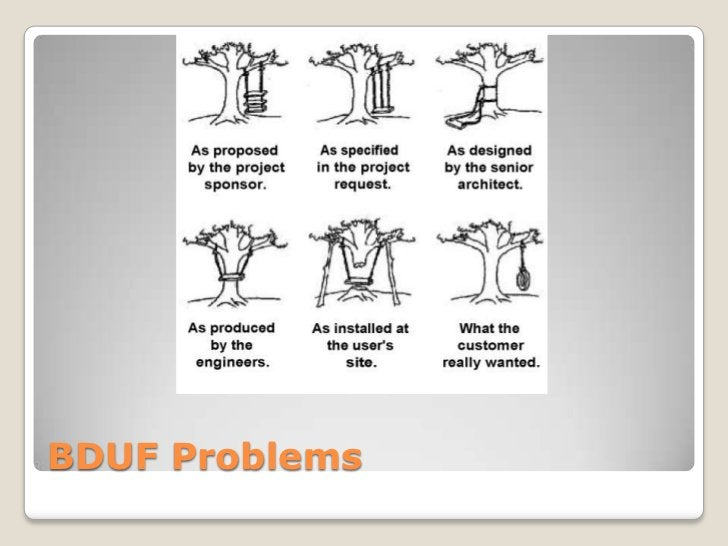 BDUF Problems