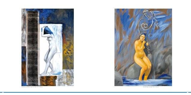Femme se coiffant, huile sur toile, 97 x 146 cm   Union, huile sur toile, 90 x 116 cm16                                   ...
