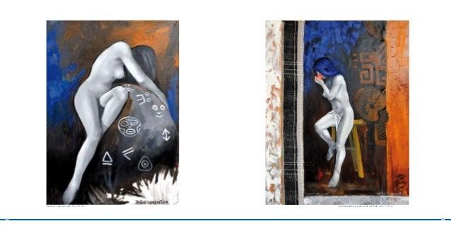 Mémoire, huile sur toile, 65 x 92 cm   La pause après la pose, huile sur toile, 90 x 114 cm18                             ...