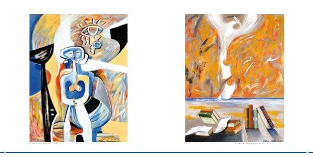 Le cadeau, huile sur toile, 98 x 130 cm   La pensée de Césaire, huile sur toile, 90 x 116 cm24                            ...
