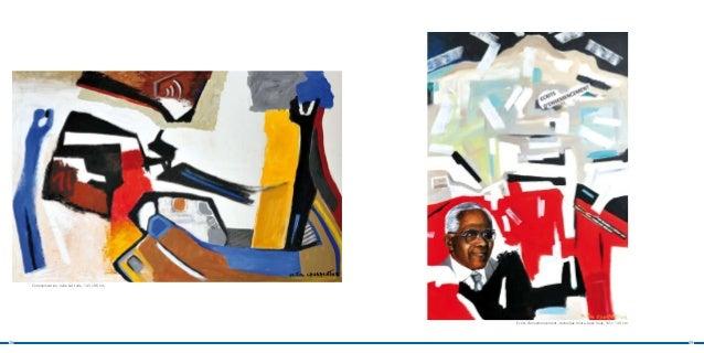 Communication, huile sur toile, 145 x 96 cm                                                   Ecrits d'ensemencement, tech...