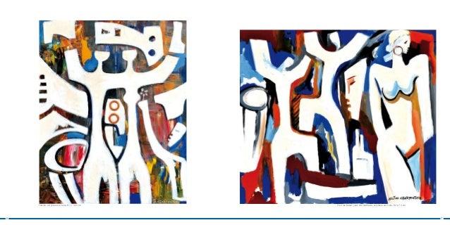 Famille, acrylique sur toile, 81 x 100 cm   Pour les beaux yeux d'Anasthasie, acrylique sur toile, 82 x 72 cm6            ...