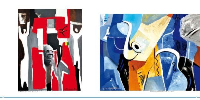 Rouge balisier, huile sur toile, 90 x 114 cm   Musique, technique mixte, base huile, 117 x 89 cm10                        ...