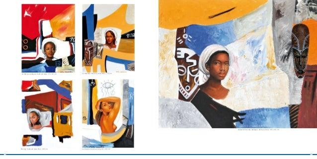 La fille aux anneaux, huile sur toile, 74 x 92 cm   La dentelle, huile sur toile, 88 x 116 cm                             ...