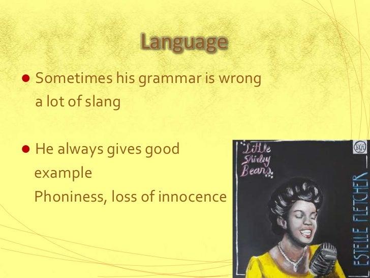 Comparing Loss of Innocence