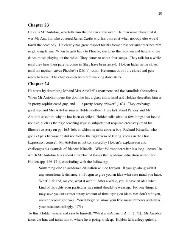 Biographies essays