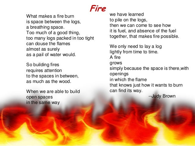 What makes a fire burnis space between the logs,a breathing space.Too much of a good thing,too many logs packed in too tig...