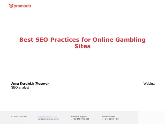 How to catch and keep iGaming players         with SEO & Retention MarketingAnna Korolekh (Moseva),                       ...
