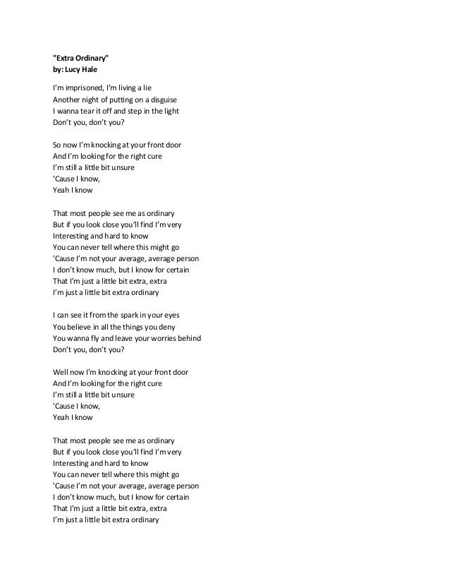 Lyric la la lie lyrics : Catch my breath lyrics final