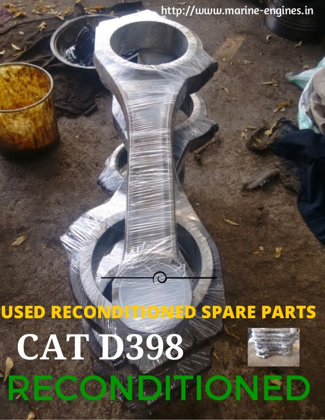 Caterpillar D399 and D398 Parts