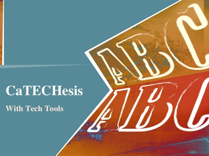 CaTECHesisWith Tech Tools