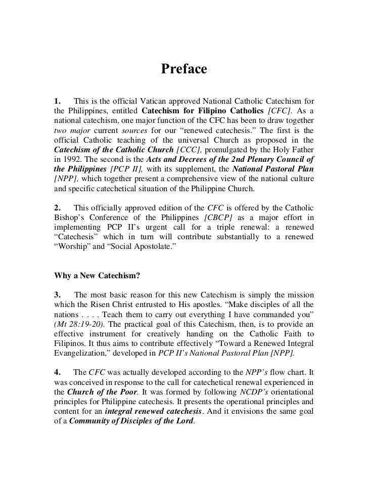 Catechism for filipino catholics cfc o box 3601 manila 1099philippines 4 ccuart Image collections