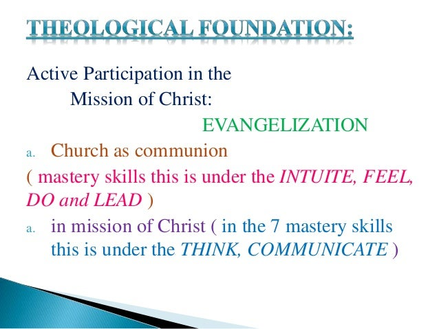 helping through integral evangelization The plenary council was intended to help overcome those shortcomings  of  the poor will be the litmus test for the success of renewed integral evangelization .