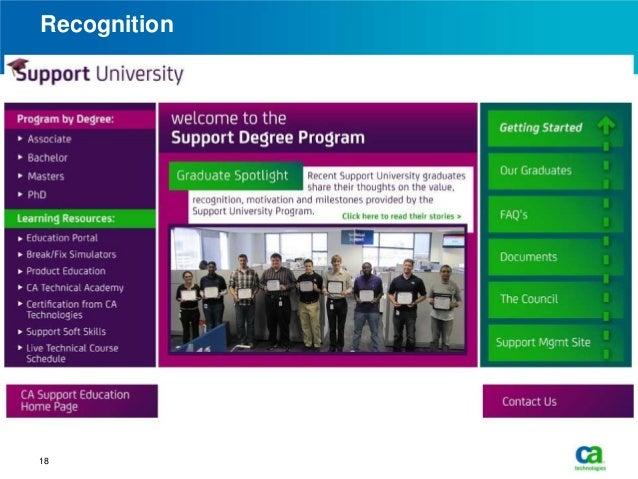 Ca technologies corporate university case study - SlideShare