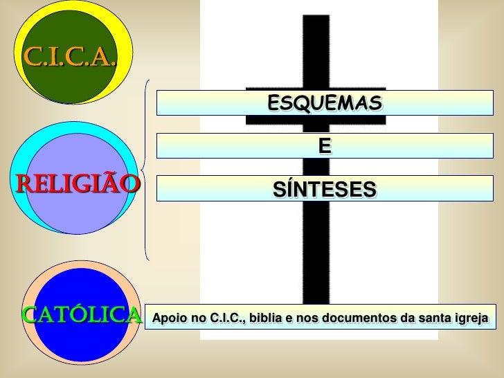 C.I.C.A.                               ESQUEMAS                                        E religião                       SÍ...