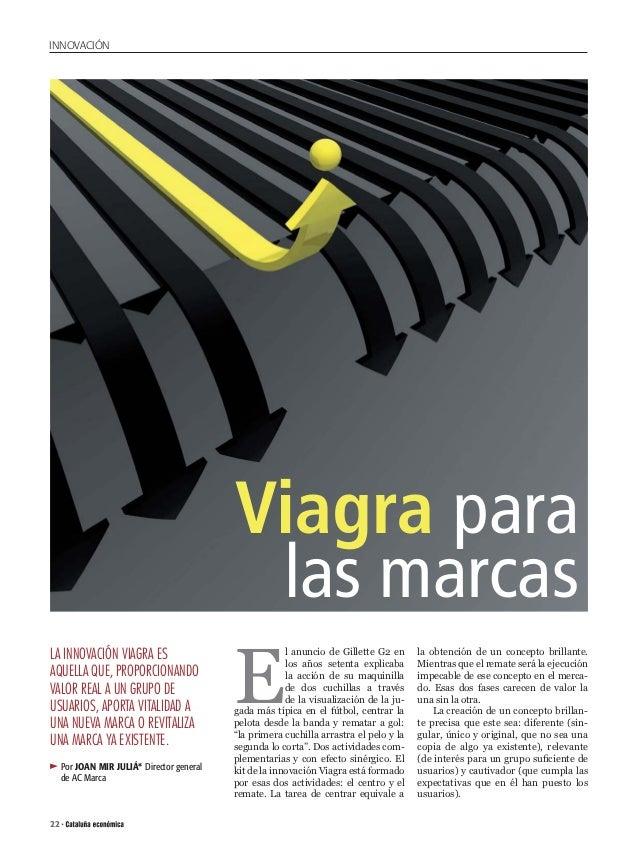 INNOVACIÓN                                            Viagra para                                             las marcas  ...