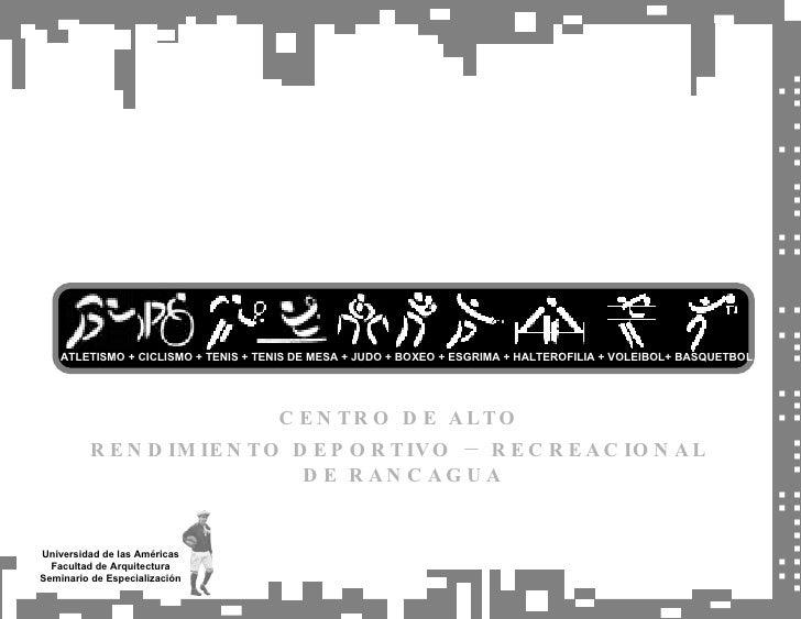 Universidad de las Américas Facultad de Arquitectura Seminario de Especialización .::…:: … :.:  ..: :  :: … .: . .:. CENTR...