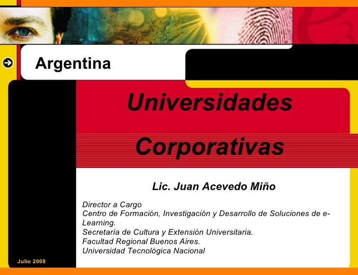 Argentina                          Universidades                           Corporativas                                Lic...