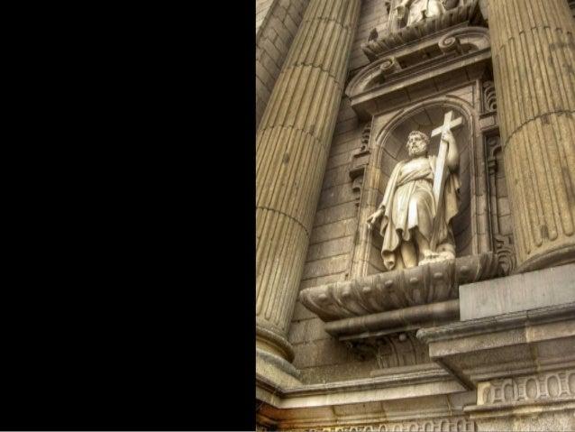 """Los interiores de la catedral de Lima, a pesar de su """"austeridad"""", están considerados entre los mejores del continente. Na..."""