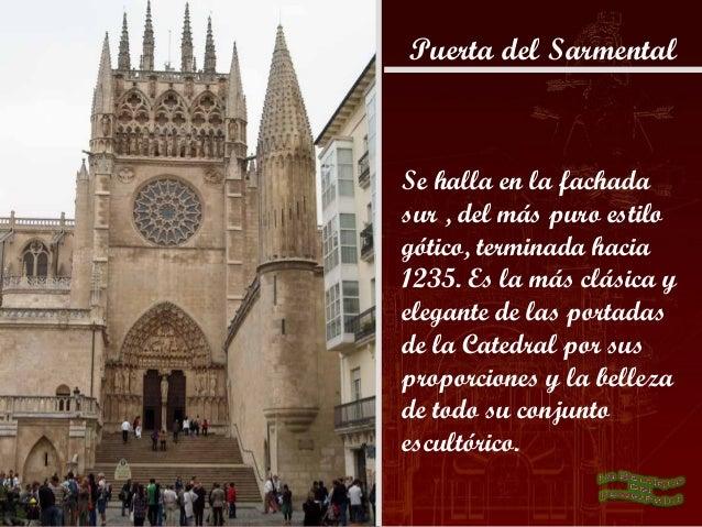 Fachada principalPuerta Santa Maria