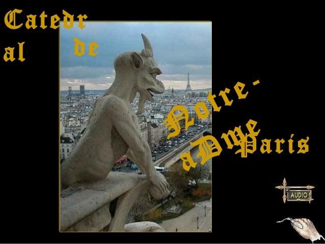 Catedral   de               tr e-             o          N me             D   Paris           a