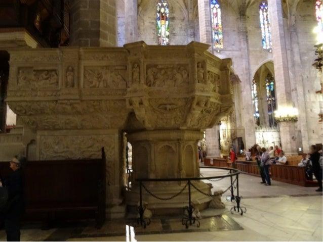 La custodia mayor de laLa custodia mayor de la Catedral es una obra noCatedral es una obra no unitaria fruto de lasunitari...