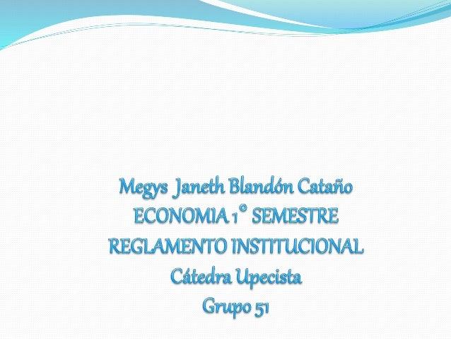 El siguiente trabajo es el resultado de la investigación  sobre el Reglamento Estudiantil de la Universidad  Popular del C...