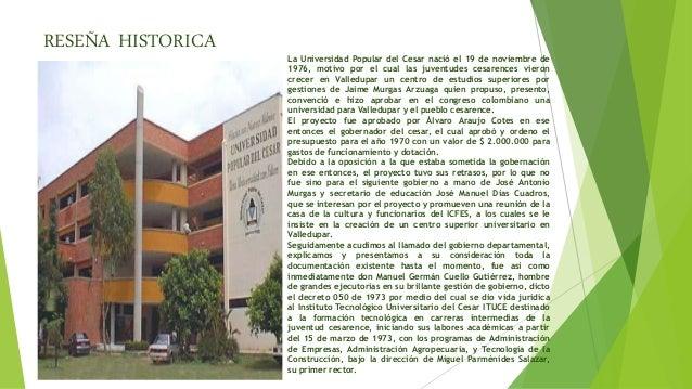 Universidad Popular del Cesar Slide 2