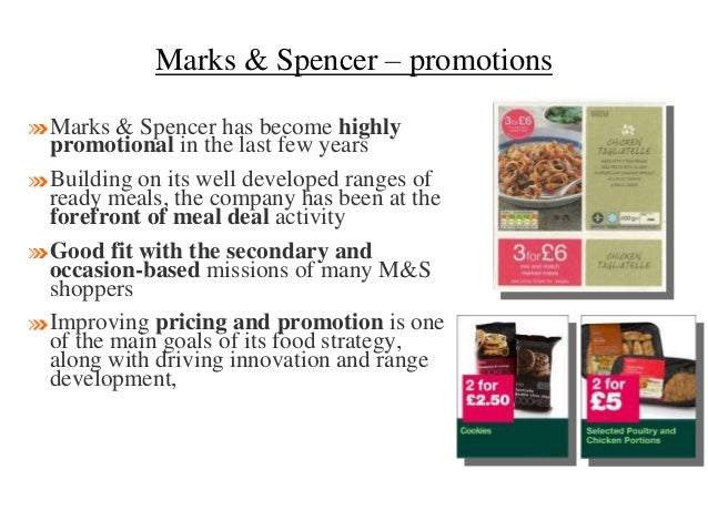 Marks spencer retailing strategy