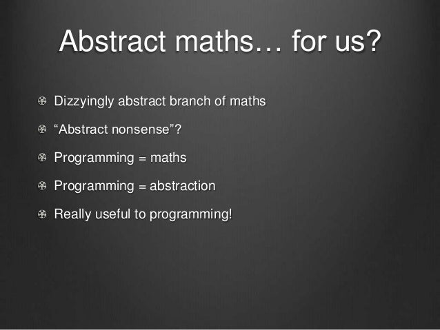 Category theory for beginners Slide 2