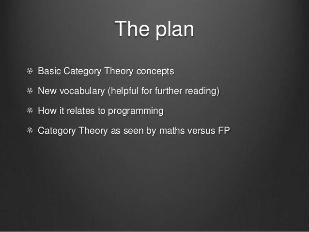 Category theory for beginners Slide 3