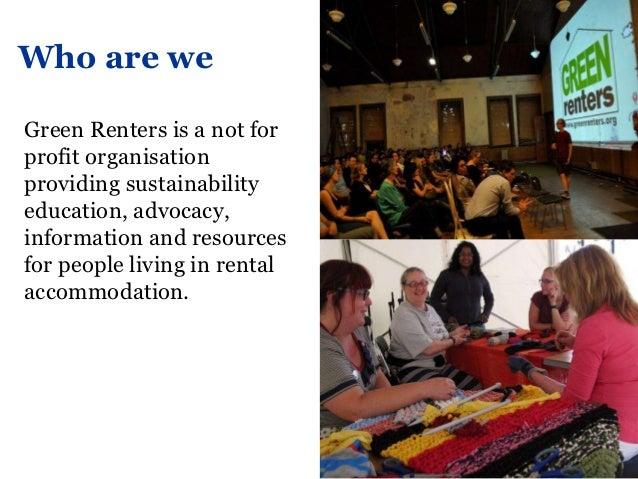 Melbourne social media forum - Green Renters Slide 2