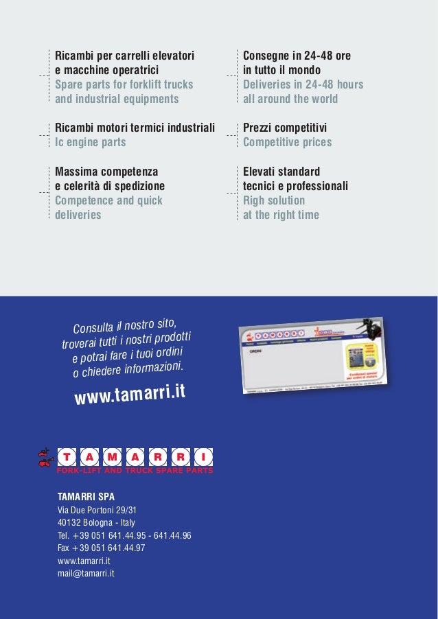 Catene di Sollevamento e Accessori - Catalogo Tamarri SpA