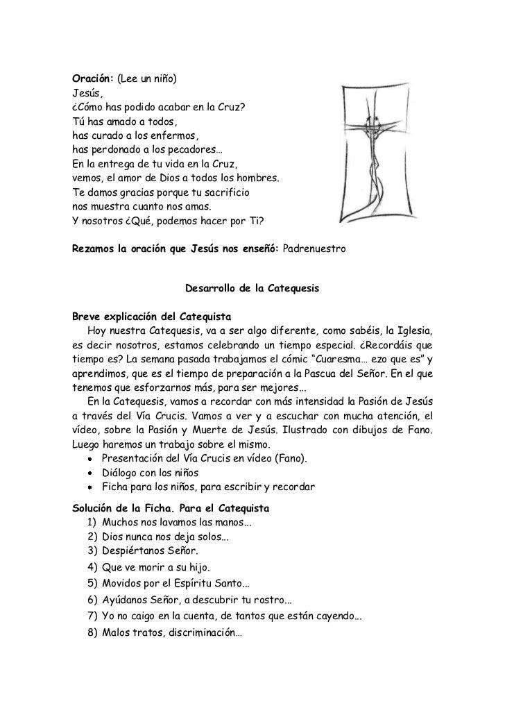 Oración-Catequesis del Santo Via Crucis para niños Slide 2