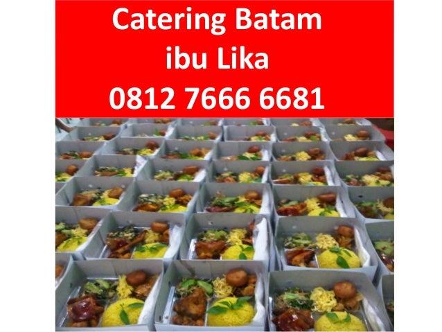 Menu Harga Pesan Catering Nasi Kuning di Batam, 0812 7666 6681 (Tsel) Slide 2