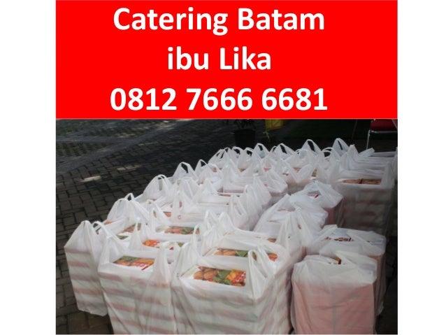 Menu Harga Pesan Catering Nasi Kuning di Batam, 0812 7666 6681 (Tsel) Slide 3