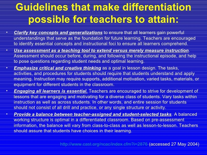 curriculum planning and instructional design for gifted learners