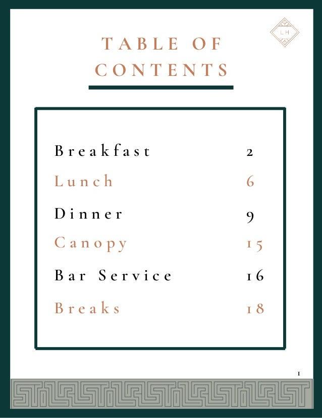 The Last Hotel Catering Menu v.1215 Slide 2
