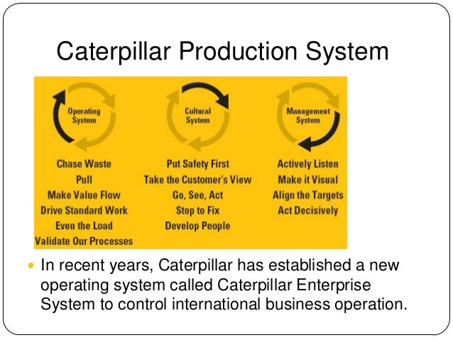 caterpillar corporation essay A new caterpillar emerges essay sample caterpillar was a low-cost manufacturer in the construction equipment industry until the beginning of 1980's, but in 1982, competition from the japanese biggest construction equipment manufacture ie komatsu, kubota, and hitachi, threatened its position.