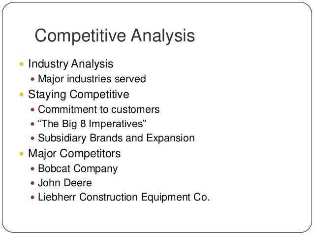 marketing strategies for john deere company essay The marketing mix of nestle discusses the 4p's of nestle which is  this is a major achievement for a company which relies  marketing mix of john deere.