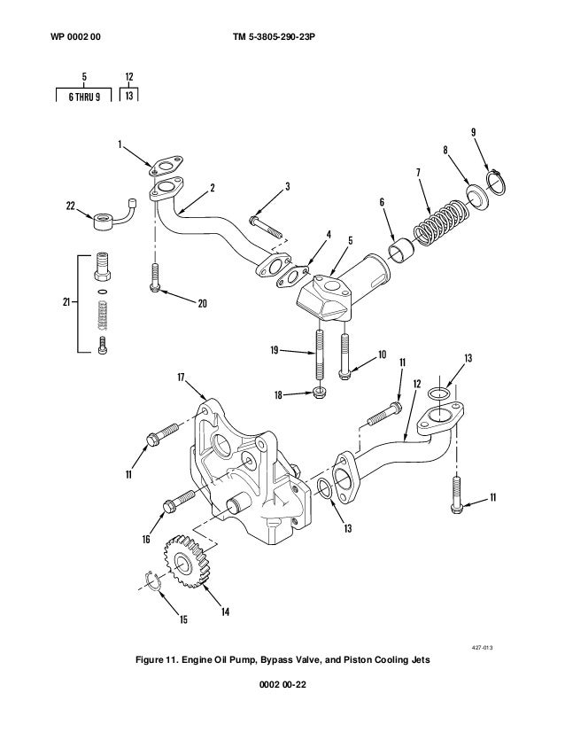 Caterpillar Engine Water Pump Parts