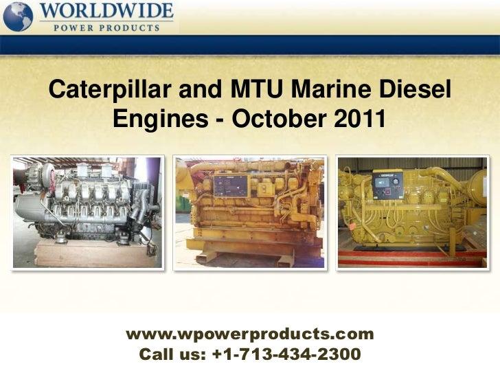 Mtu marine products