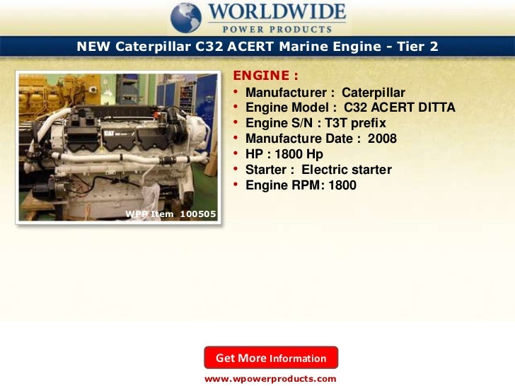 Caterpillar and mtu marine diesel engines october 2011
