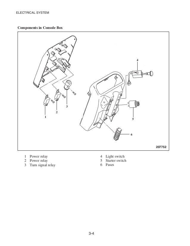 caterpillar cat gc40 k forklift lift trucks service repair manual sn John Deere 310D Wiring-Diagram electrical