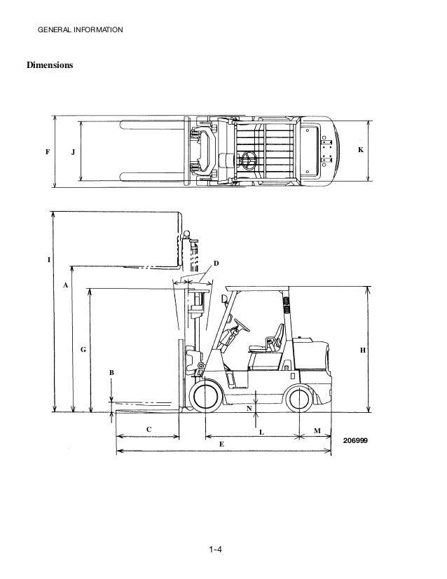 Caterpillar cat gc45 k swb forklift lift trucks service