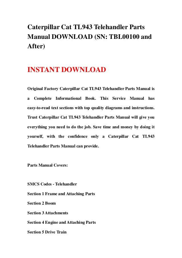 Cat 3066 manual Download